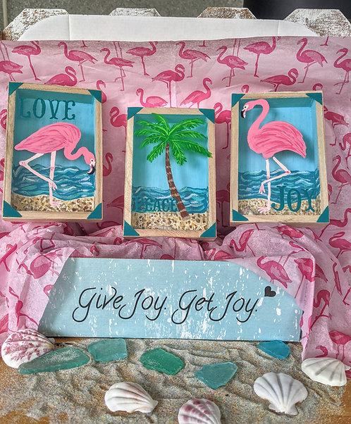 Fabulous Flamingos Trio