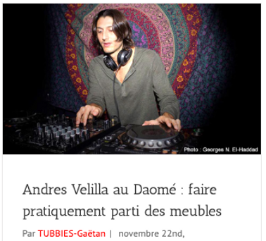 Press Andres Velilla, Les Tubbies