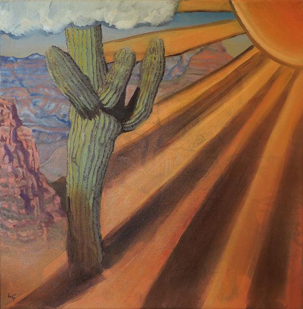 Saguaro And The Sun: A Conversation