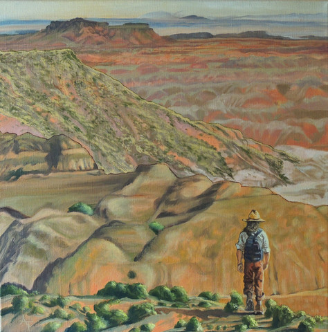 There Was A Glimpse Of The Painted Desert