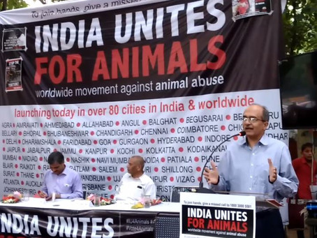 18th September 2016 - Speech by Shri Prashant Bhushan on animal rights at India Unites for Animal Ri