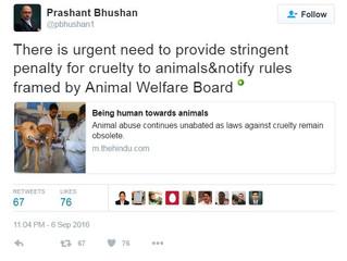 Wed-07-Sep-2016 - Shri Prashant Bhushan, Adv. writes in the national daily The Hindu about urgent ne