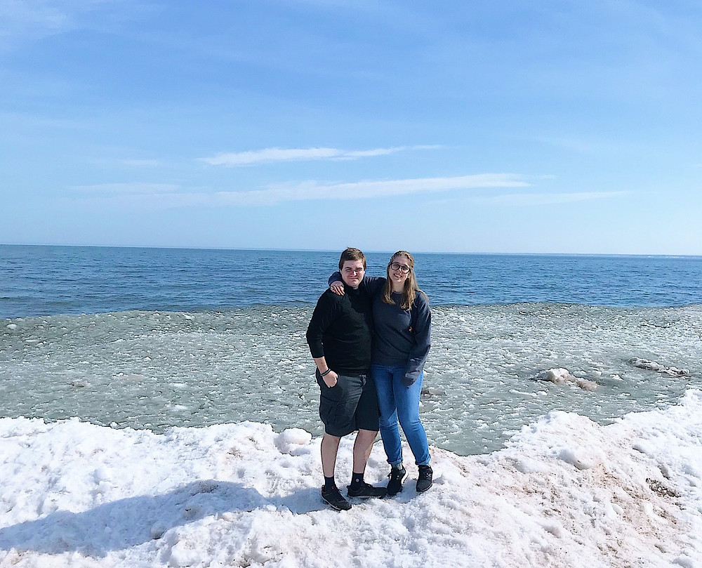 A quick trip to Duluth in March and got to see Lake Superior and some friends.