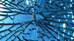 Shattered Piece of Glass