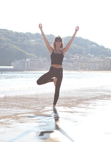 Yoga - calms the mind, strengthen the body and promotes an overall sense of well-being
