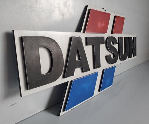 Datsun Garage Sign