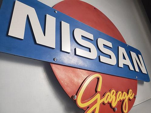 2-foot Nissan Garage Sign