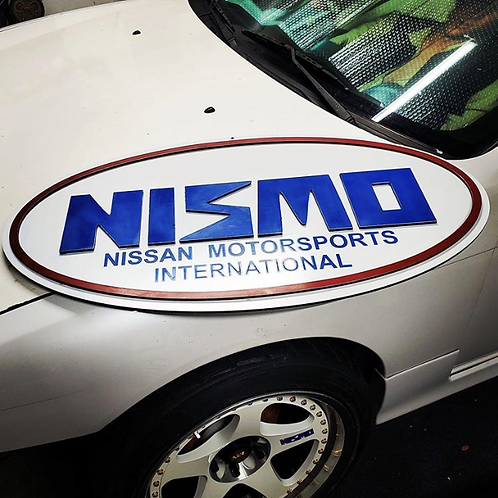 3-foot Nismo Garage Sign