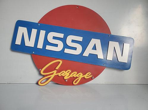 """18"""" Nissan Garage Sign"""