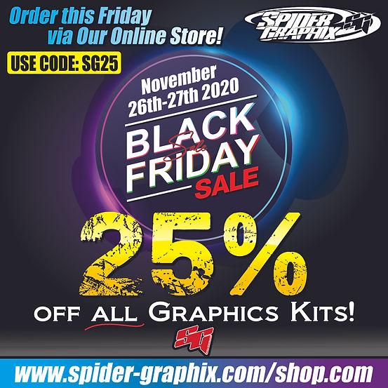 Spider Graphix Black Friday Sale 2020.jp