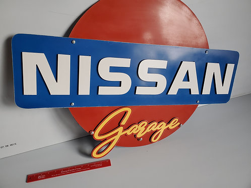 3-foot Nissan Garage Sign