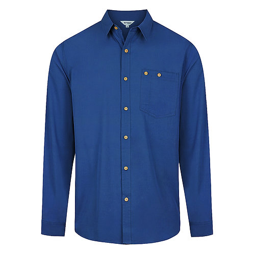 Bamboo Mens Long Sleeve Button Shirt BBSHIRTM100