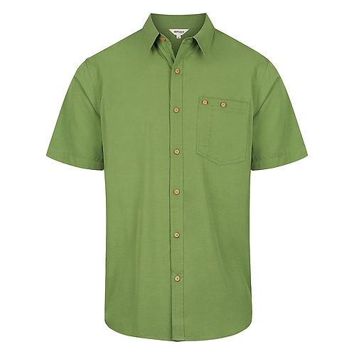 Bamboo Mens Short Sleeve Button Shirt BBSHIRTM101
