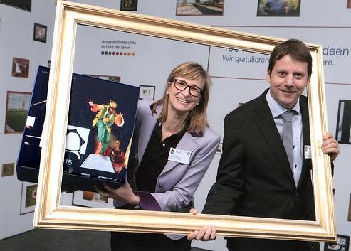 Kerstin Witting, Sascha von Donat, Auszeichnung beim Land der Ideen