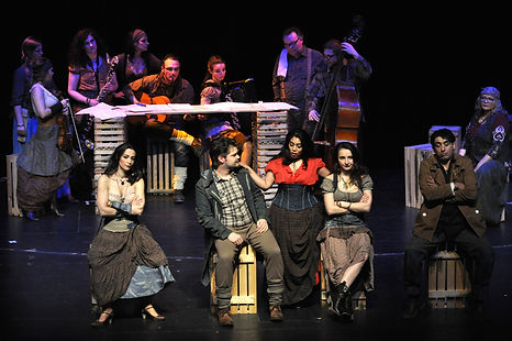 Carmen von G. Bizet mit Carrie Dimaculangan, Carmen Bangert, Walter Rösler, Delphine Guévar, Bettina Henrich, Martin Genahl, Annette Maye, Carla Beiersdörfer, Sophie Moser und vielen anderen