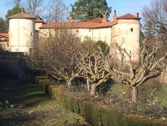 Taille fruitière au chateau de Chazelles-sur-Lavieu
