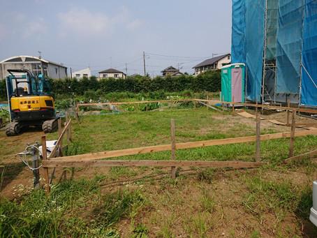 【大井町 Y様邸】基礎工事