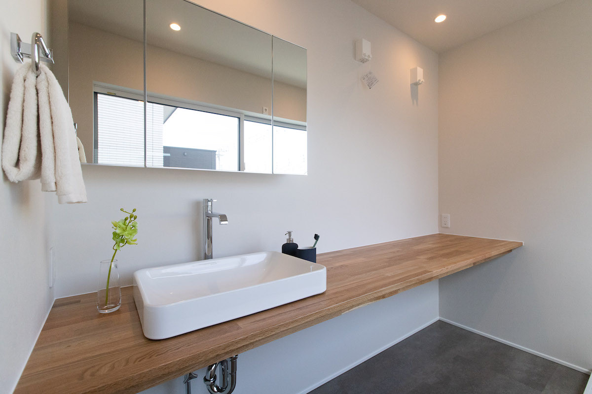 2階洗面台