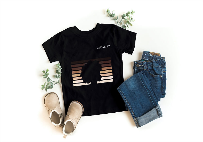 Toddler Equality Silhouette Tee