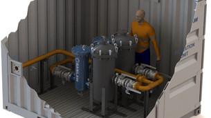 Containerised Fuel Skid