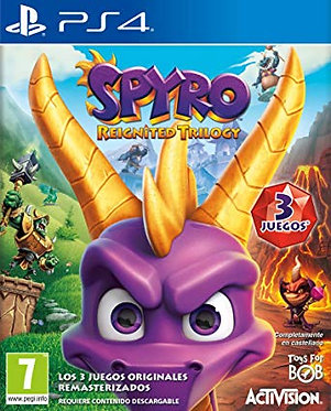 JUEGO SPYRO REIGNITED TRILOGY PS4