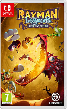 JUEGO SWITCH RAYMAN LEGENDS