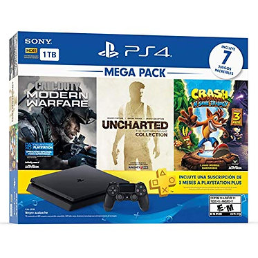 Mega Pack de PlayStation 4 con 7 juegos