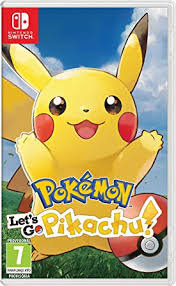 JUEGO SWITCH POKEMON LETS GO PIKACHU