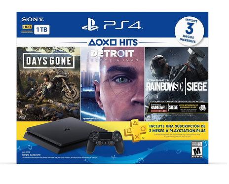 Consola PlayStation 4 Bundle Hits 5
