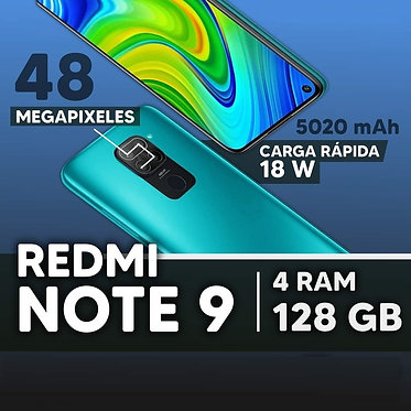 XIAOMI REDMI NOTE 9 - 128GB