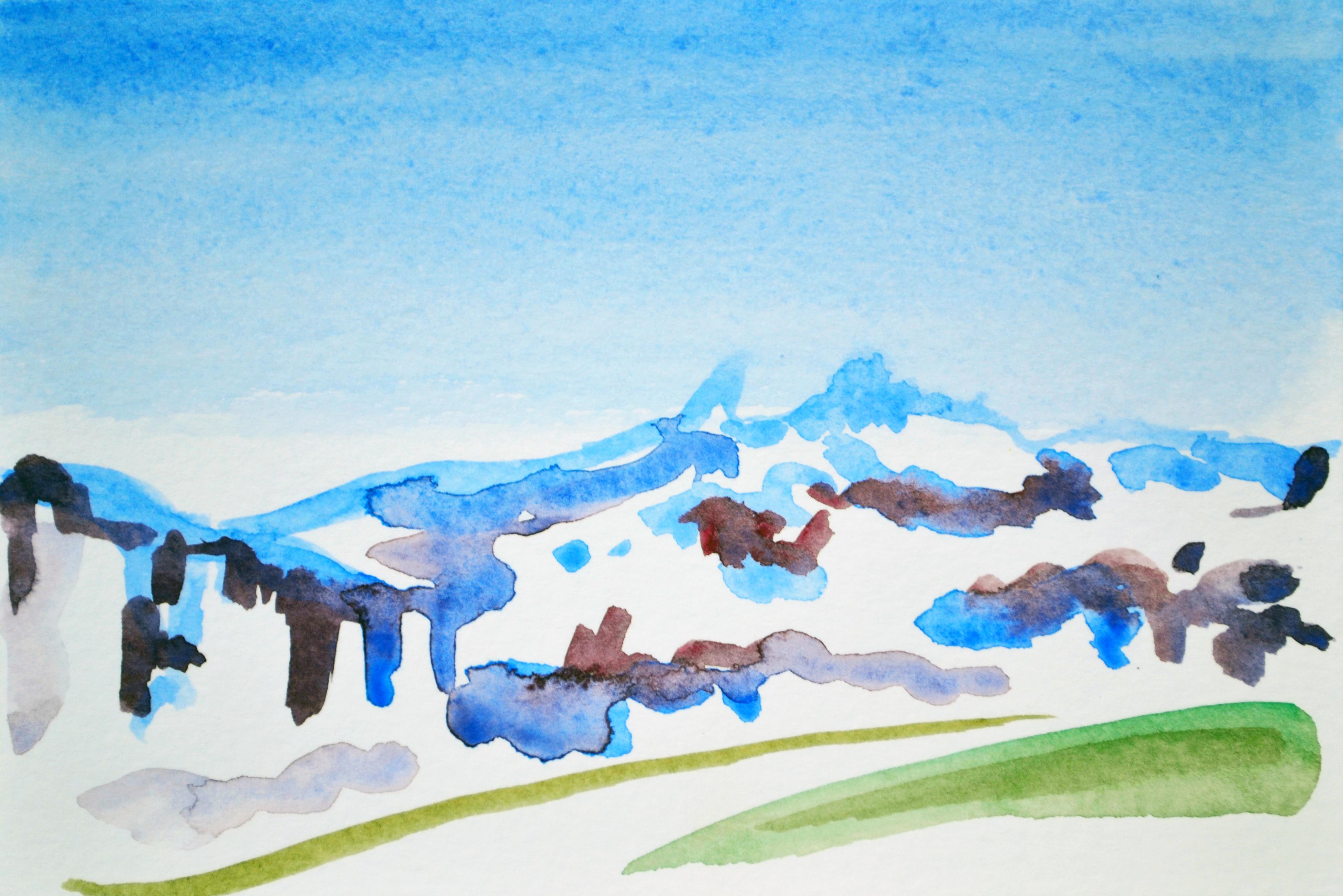 Tricolour Mont Blanc