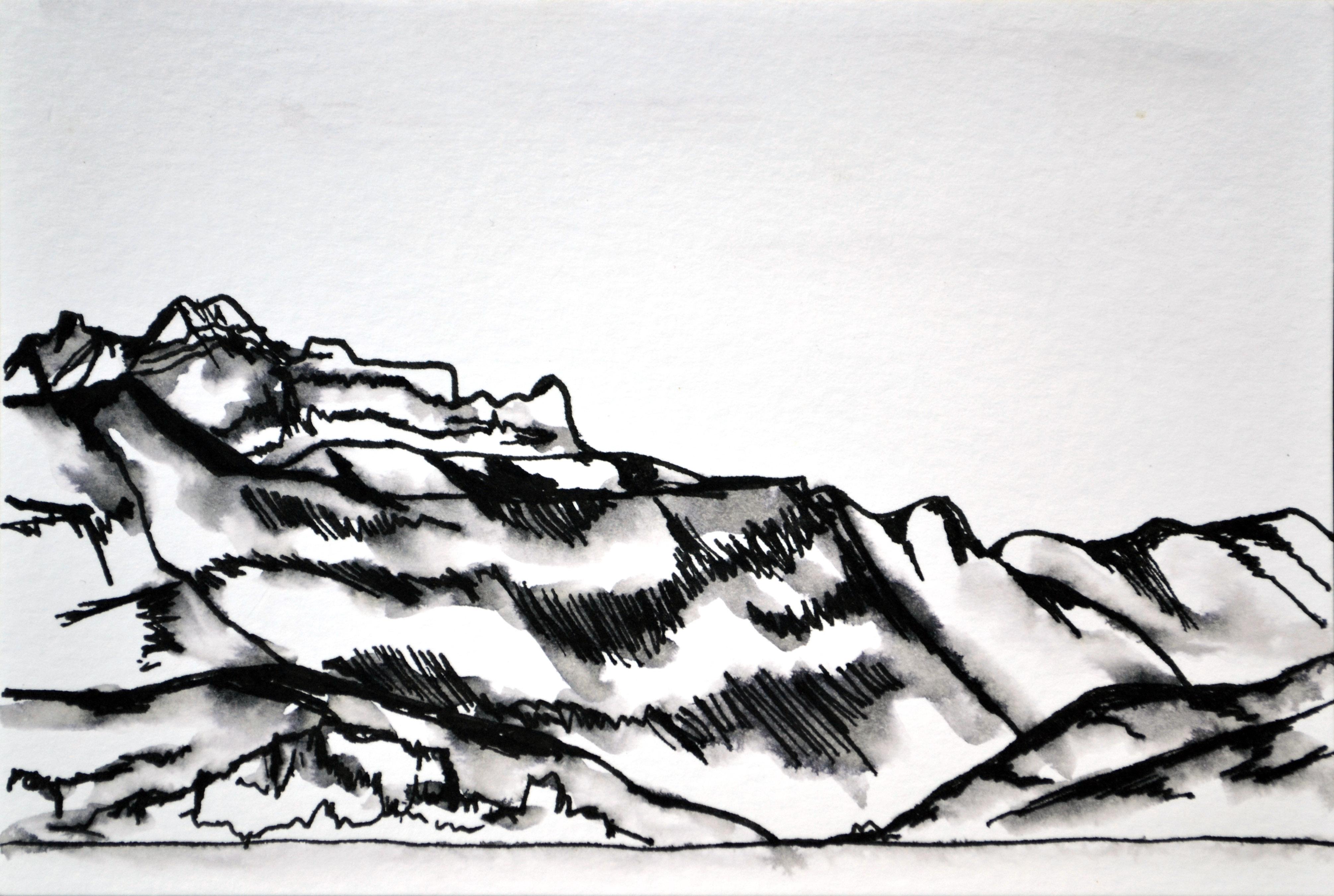 La Tournette Sketch