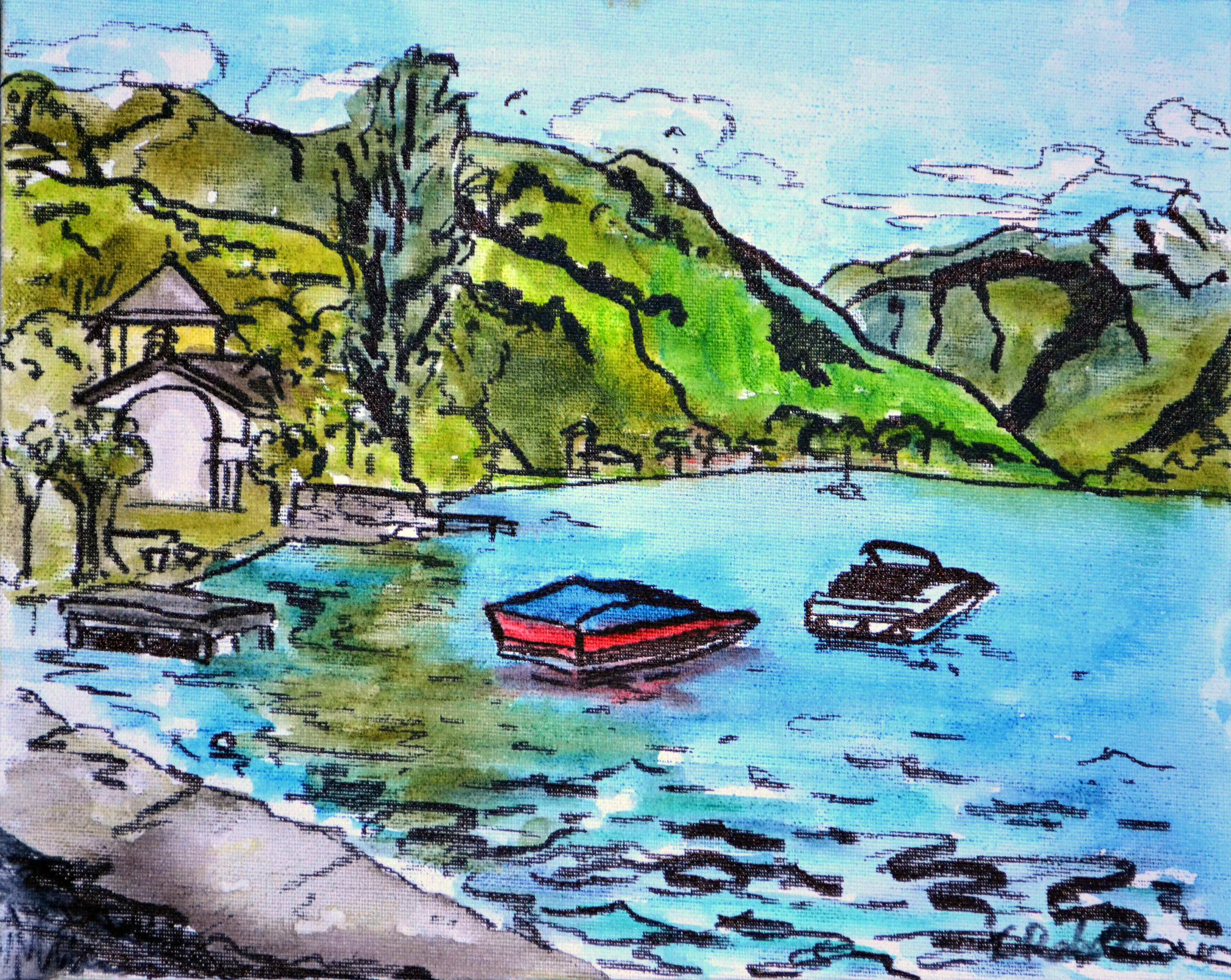 Lake Annecy Boats