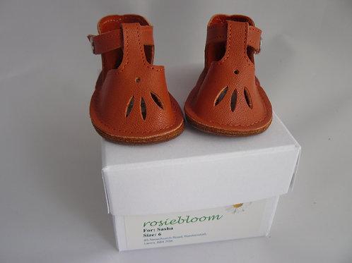 Orange Play Shoes For Sasha