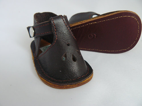 Dark Chocolate Brown Play Shoes