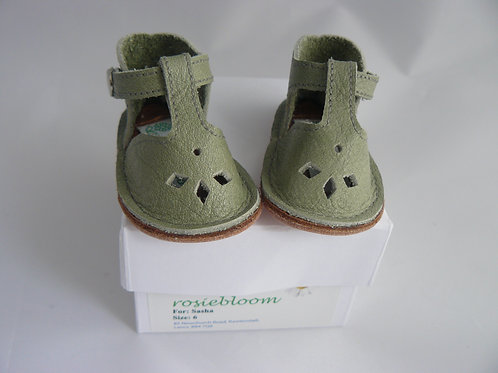 Pale Stonewashed Green Play Shoes