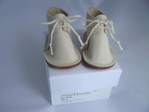 Cream Play boots for Sasha