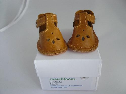 Tan Play Shoes for Sasha