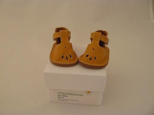 Pale Orange Play Shoes for sasha