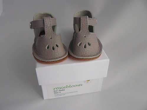 Pale Grey Play Shoes for Sasha