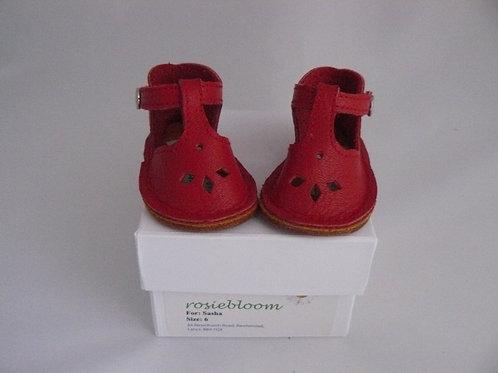 Tomato Red PLay Shoes for Sasha.