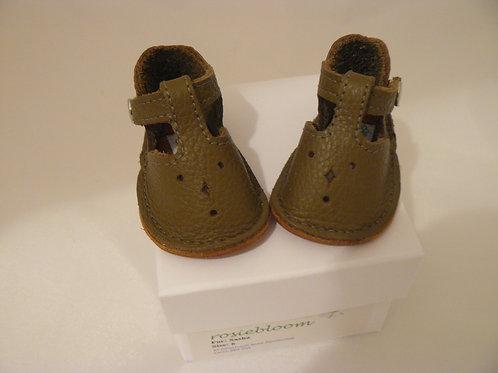 Dark Olive Green Play Shoes for Sasha