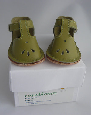 Apple Green Play Shoes for Sasha