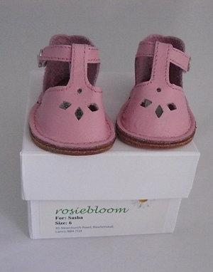 Baby Pink Play shoes for Sasha