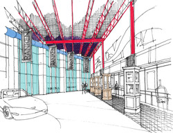 Prologue Room and Museum Drawing