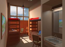 Student Dormitory - 3D Dorm Unit