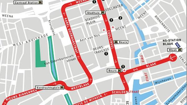 Rotterdam Carnival Route