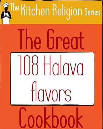 The Great 108 Halava Flavors Cookbook
