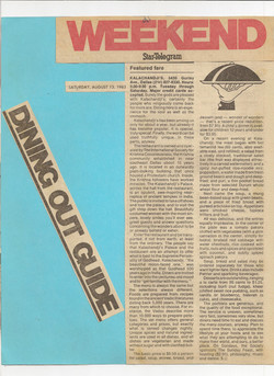 Ft. Worth Star Telegram, 1983