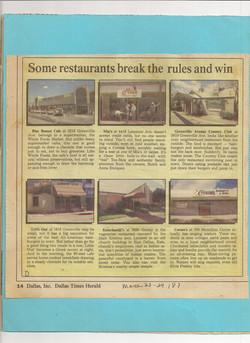 Dallas Times Herald, 1987
